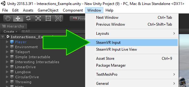 Quickstart | SteamVR Unity Plugin